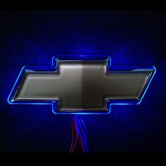 LED for Chevrolet Logo - Blue