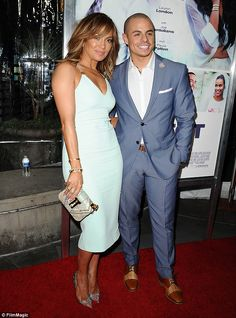 Her beau: J-Lo has been married three times and has been with her former back-up dancer, C...