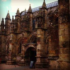 Rosslyn Chapel, Roslin Scotland