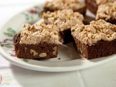 Picture of Trisha Yearwood's Brownies with Coconut Frosting Recipe - just watched it on her show, they look amazing! (one of those things that taste so good, but are really bad for you)