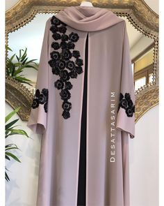 Burqa Fashion, Muslim Fashion, Fashion Outfits, Hijab Evening Dress, Hijab Dress, Abaya Designs, Mode Abaya, Sleeves Designs For Dresses, Evening Dresses For Weddings