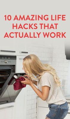 10 Amazing Life Hacks That Actually Work