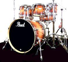 Pearl VML Maple Drum Kit £999