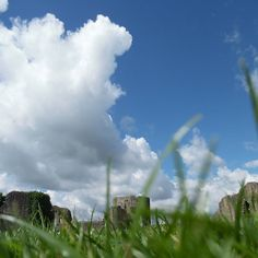 Barnard Castle @EnglishHeritage #castle #skyline