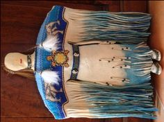 native american beadwork patterns and designs | beaded pow-wow sioux doll