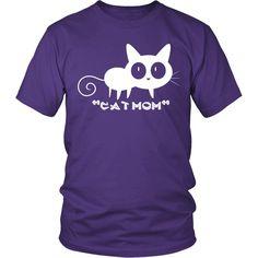 "Cat ""MOM"" District unisex T-Shirt"