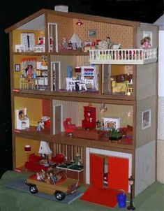 My doll house - Swedish was cool before Ikea