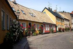 Lund, Sweden. Been there!!! It's actually this pretty. ^_^