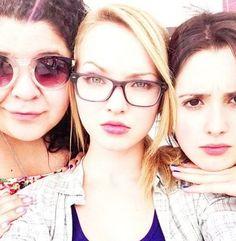 Laura, Raini, and me