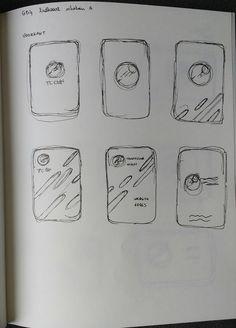Lidkaart schetsen 1