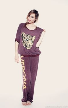 Wildfox Verona Cat OS Sweater