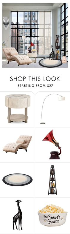 """time to relax"" by asti-pramitha ❤ liked on Polyvore featuring interior, interiors, interior design, home, home decor, interior decorating, Abbyson Living, Winsome and Torre & Tagus"