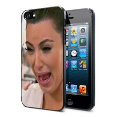Kim Kardashian Cry Ugly Face Phone Case