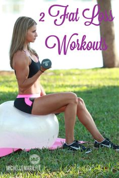 These are 2 great FAT LOSS #Workouts, especially for #WOMEN. The Secret To Losing Weight & Getting Toned...............