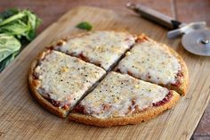 Quinoa Pizza Crust f