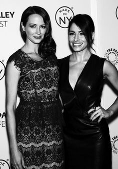 "[OTP Edit] Amy Acker and Sarah Shahi of ""Person Of Interest"" (x)"