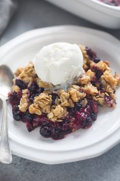 The easiest Triple Berry Crisp made with frozen berries for a juicy berry filling nestled under a crispy oat topping. So it turns out that ya'll love fruit crisps just as much as I do! Some of my most popular recipes are my BEST EVER Apple Crisp and my Peach Crisp, so I knew it …
