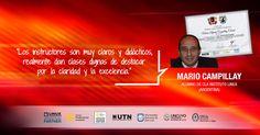Testimonio de Alumno Mario Campillay - Curso Debian Linux System Engineer. Plan de formación de administradores de redes Linux - Carrera Linux