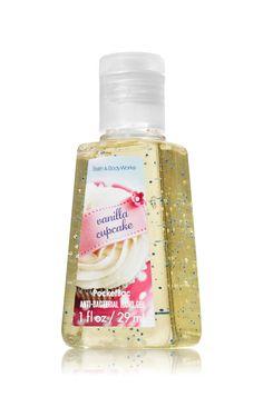 Vanilla Cupcake PocketBac Sanitizing Hand Gel - Anti-Bacterial - Bath & Body Works