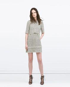 ZARA - WOMAN - PRINTED LAYER DRESS  Price: 99.90 Composition: cotton, polyamide