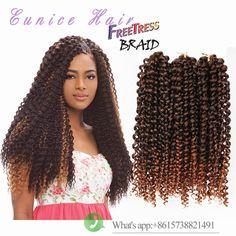 100% premium soft kanekalon syntheitc braiding hair freetress hair crochet
