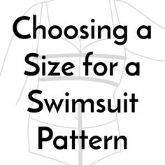 When I'm sewing a pattern that I haven't sewn before, I usually jump straight to the pattern pieces and measure the high bust and the hip to choose what size I will sew. Patterns often…