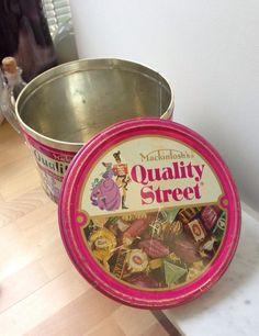 Vintage Mackintosh's Quality Street Tin