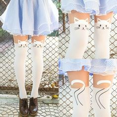 cute cat tights