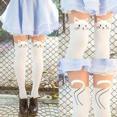 cute cat tights