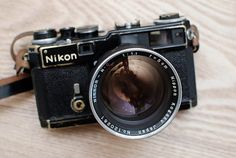 Nikon SP Rangefinder, a rare and beautiful camera, Nikon at its best. Nikon SP / Nikkor-N. Dslr Photography Tips, Photography Equipment, Film Photography, Pregnancy Photography, Landscape Photography, Wedding Photography, Fashion Photography, Antique Cameras, Vintage Cameras