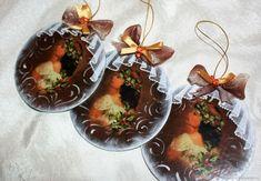 """Купить Медальоны на елку """"Рождественская тайна"""" в интернет магазине на Ярмарке Мастеров"""