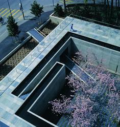 Domino Architects ~ Fondation Louis Jeantet ~ Geneva, Switzerland ~ 1995 International Red Cross, Water Catchment, Social Housing, Urban Design, Landscape Architecture, Architects, Public, Geneva Switzerland, Garden