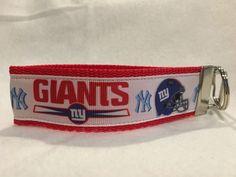 New York Giants Keychain, New York Giants Ribbon, New York Giants Gifts