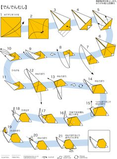Origami Guide, Diy Origami, Anime, Nature, Projects, Crafts, Origami Tutorial, Manualidades, Log Projects