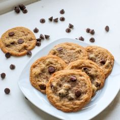 Toffee Chocolate Chip cookies by zestycook