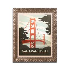San Francisco by Anderson Design Group Framed Graphic Art