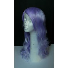 Custom Made to Order Steven Universe Amethyst Cosplay Wig styled... ($70) ❤ liked on Polyvore featuring costumes, wigs costume, cosplay halloween costumes, blue wig costume, comic halloween costume and comic cosplay costumes