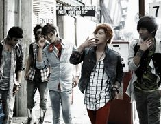 F.T. Island ♡ Choi Jong-hoon, Lee Hongki ,Lee Jae jin, Song Seung-hyun, and Choi Min-hwan.
