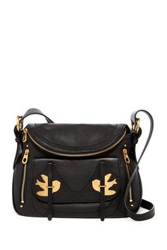 cb81b951774676 Marc by Marc Jacobs | Natasha Petal To The Metal Leather Crossbody Bag