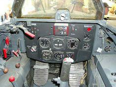 Messerschmitt Me 163 Komet cockpit