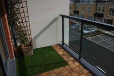 TigerTurf artificial grass on balcony
