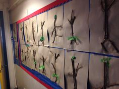 Stick men inspired from the Julia Donaldson book
