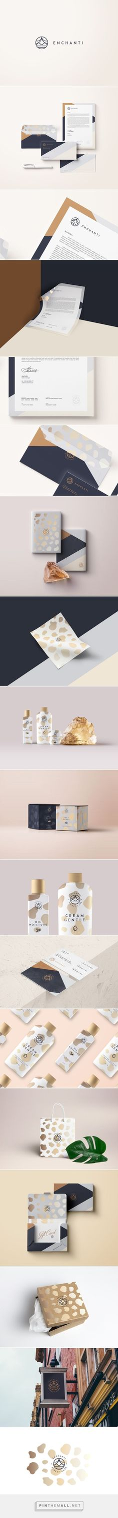 Enchanti Finest Care Cosmetic Branding by Sebastian Bednarek