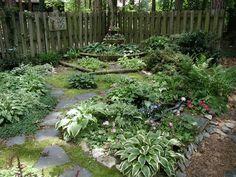 small shade gardens Small shade garden ideas Shade Gardens