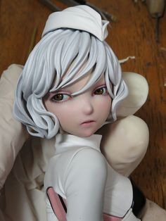 (4) Twitter Character Inspiration, Character Design, Cool Shapes, Bjd, Real Doll, Fantasy Landscape, Anime Figures, Anime Style, Figure Painting