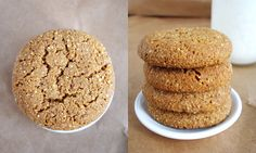 Quinoa Molasses Crinkles