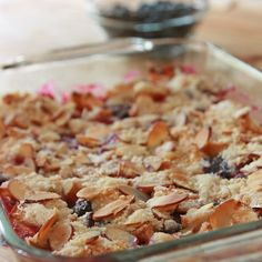 Passover Berry Crisp Recipe Desserts with strawberries, fresh blueberries, sugar, ground cinnamon, v Passover Menu, Passover Desserts, Passover Recipes, Jewish Recipes, Kosher Recipes, Cooking Recipes, Beef Recipes, Chicken Recipes, Vegan Recipes