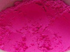Pigmento de color magenta. Cuanto más fino es el grano de pigmento, de mejor calidad será el color resultante.