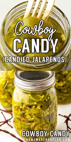Whether you call them candied jalapenos or cowboy candy, these little slices of sweet heat make for a great gift or a fun new topping for your favorite crackers, dips, or salads. Pickled Jalapeno Recipe, Jalapeno Relish, Jalapeno Recipes, Cucumber Recipes, Stuffed Jalapeno Peppers, Recipes With Jalapenos, Canning Jalapeno Peppers, Jalapeno Pepper Jelly, Pepper Jelly Recipes