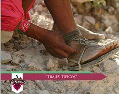 El huarache (calzado) rarámuri es muy peculiar: tiene una suela ligera, y correas hasta el tobillo; actualmente utilizan llantas usadas para la suela de sus huaraches. Aunque también es muy común ver mujeres y niños descalzos.